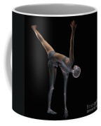 Yoga Half Moon Pose Coffee Mug