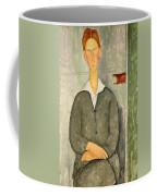 Young Boy With Red Hair Coffee Mug
