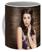 Young Girl With Perfect Skin Coffee Mug