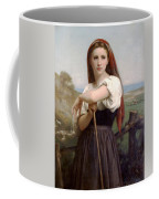 Young Shepherdess Coffee Mug