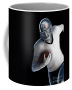 American Football Player Coffee Mug