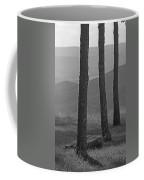 Blue Ridge Mountains - Virginia Bw 8 Coffee Mug