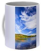Fall Forest And Lake Coffee Mug