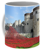 Remembrance Poppies At The Tower Of London Coffee Mug