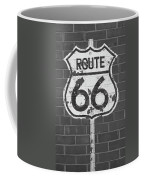 Route 66 Shield Coffee Mug