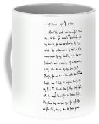 Samuel Johnson (1709-1784) Coffee Mug