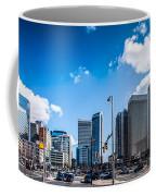 Skyline Of Uptown Charlotte North Carolina Coffee Mug by Alex Grichenko