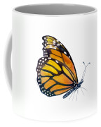 103 Perched Monarch Butterfly Coffee Mug