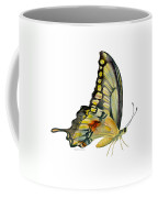 104 Perched Swallowtail Butterfly Coffee Mug