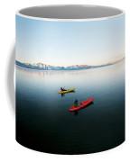 A Photographer Photographs A Kayaker Coffee Mug