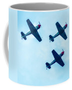 Action In The Sky During An Airshow Coffee Mug