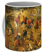 Ascent To Calvary, By Pieter Bruegel Coffee Mug