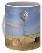 Australia - Windmill In The Wheat Field Coffee Mug