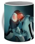Football Collision Coffee Mug