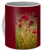Summer Poppy Coffee Mug