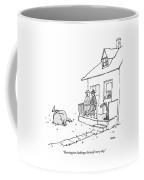 Harrington Challenges Himself Every Day Coffee Mug