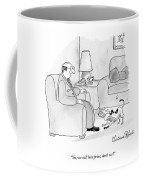 Yes, We Still Love Print, Don't We? Coffee Mug
