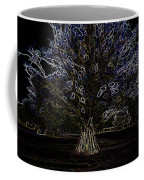 Vehicles Moving Through The American Bison Area Coffee Mug
