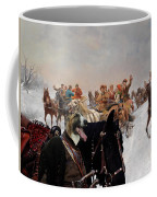 Borzoi - Russian Wolfhound Art Canvas Print Coffee Mug