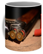 12 Gauge Over And Under Shotgun Coffee Mug