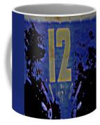12 In  Blue Coffee Mug