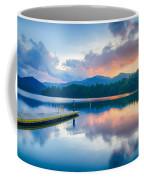 Lake Santeetlah In Great Smoky Mountains North Carolina Coffee Mug