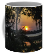 Lowcountry Spanish Moss Sunset Coffee Mug