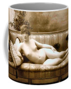 Vintage Nude Postcard Image Coffee Mug