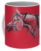 Arabian Horse  Coffee Mug by Angel  Tarantella