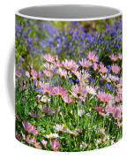 Background Of Colorful Flowers Coffee Mug