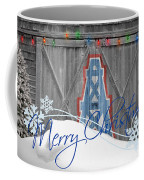 Houston Oilers Coffee Mug by Joe Hamilton