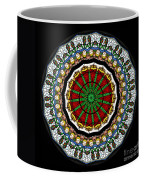 Kaleidoscope Stained Glass Window Series Coffee Mug