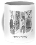 It's James Earl Jones From Verizon Again - Coffee Mug