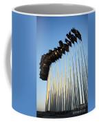 138 Black Flags Havana Cuba Coffee Mug