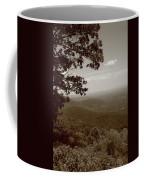 Blue Ridge Mountains - Virginia Sepia 9 Coffee Mug