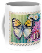 14 Cent Butterfly Stamp Coffee Mug