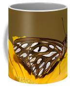 Gulf Fritillary Butterfly Coffee Mug