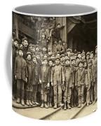 Hine Child Labor, 1911 Coffee Mug
