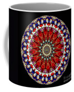 Kaleidoscope Stained Glass Window Series Coffee Mug