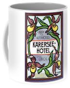 Luggage Label Coffee Mug
