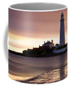 St Marys Lighthouse Coffee Mug