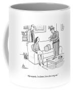 He Misspoke Coffee Mug