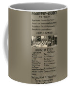 Anti-child Labor Poster Coffee Mug
