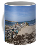 Fishing At Sebastian Inlet In Florida Coffee Mug