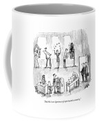 And This Is Our Department Of Experimental Coffee Mug by Robert Weber