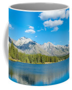 Lake With Mountains In The Background Coffee Mug