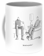 Bob Tells Me You Hunt Coffee Mug by Julia Suits