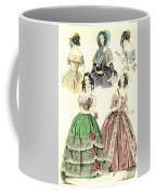 Women's Fashion, 1842 Coffee Mug