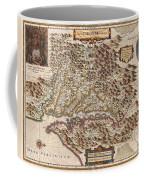 1630 Hondius Map Of Virginia And The Chesapeake Coffee Mug by Paul Fearn