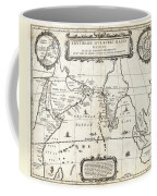 1658 Jansson Map Of The Indian Ocean Erythrean Sea In Antiquity Geographicus Erythraeansea Jansson 1 Coffee Mug